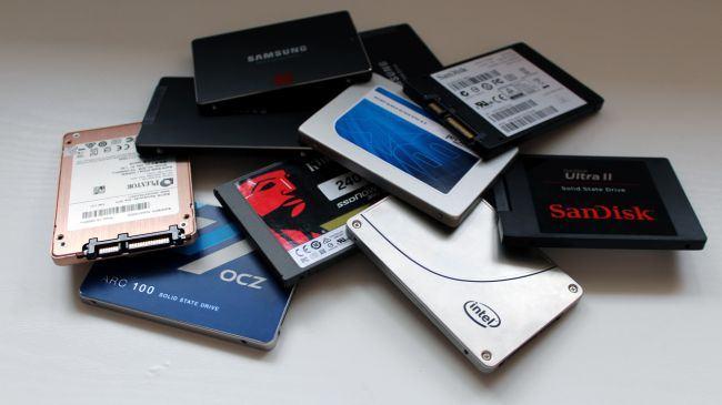 Các loại SSD đang phổ biến