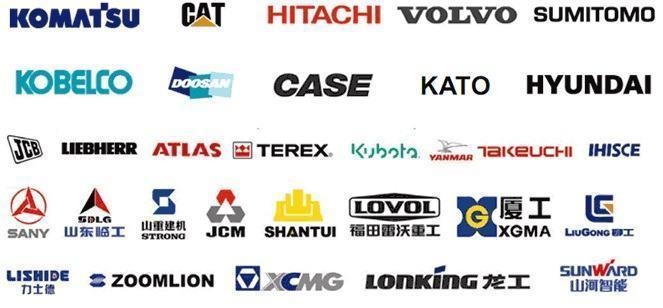 Top những hãng sản xuất máy xúc lớn nhất thế giới