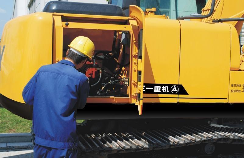 Hướng dẫn và lịch bảo dưỡng máy xúc đào- cập nhập
