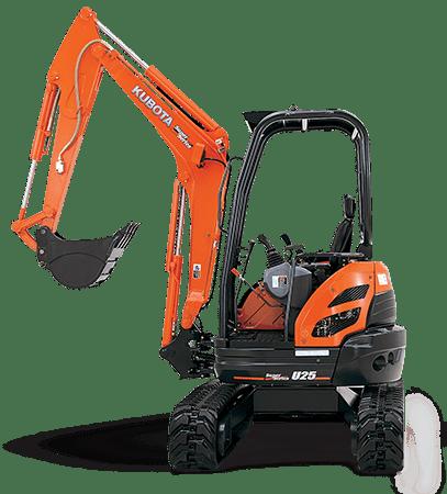 Kubota U25S Excavator5,625 lb.19.8 hp