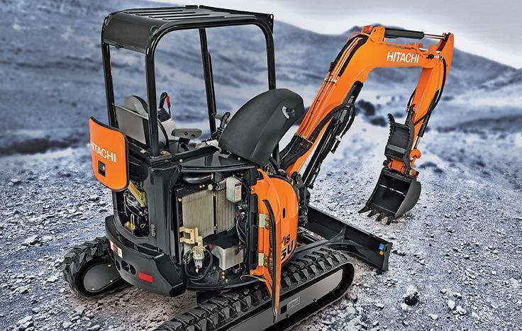 Hitachi ZX35U-5 ExcavatorHitachi ZX35U-5 Excavator7,760 lb.23.3 hp