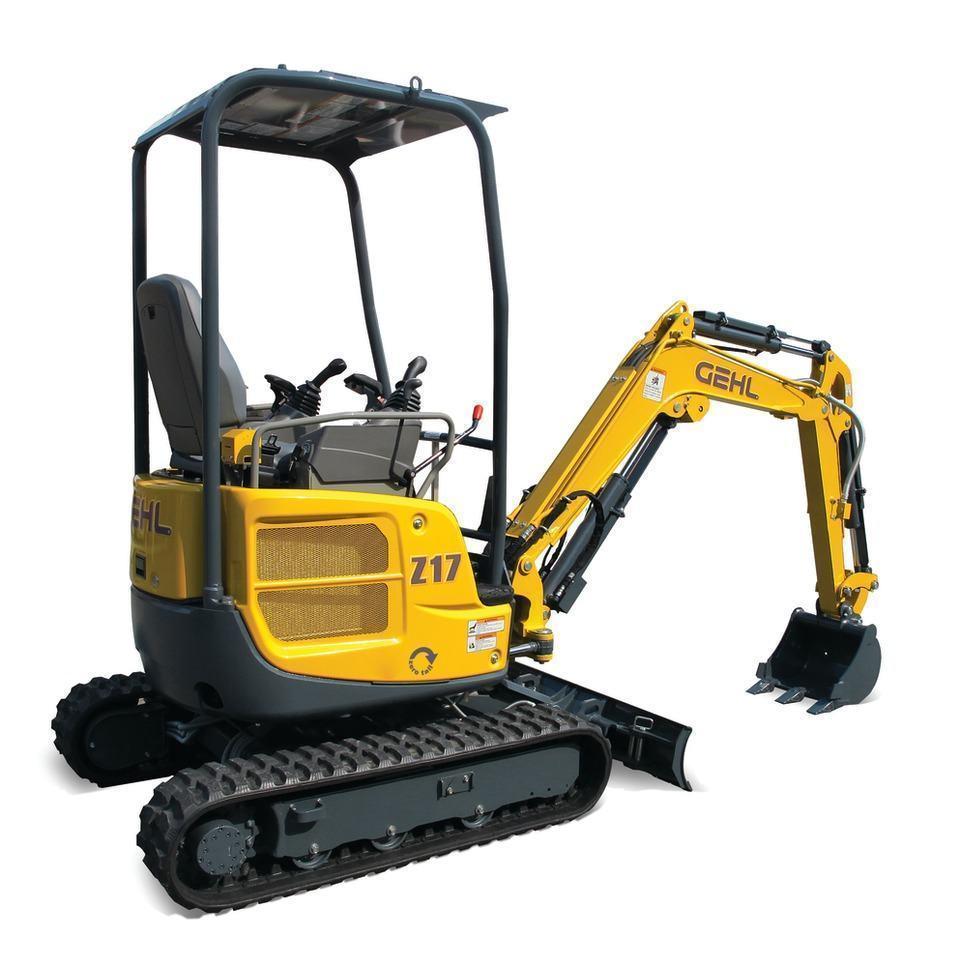 GEHL Z17 Compact Excavato r3,836 lb.13.5 hp