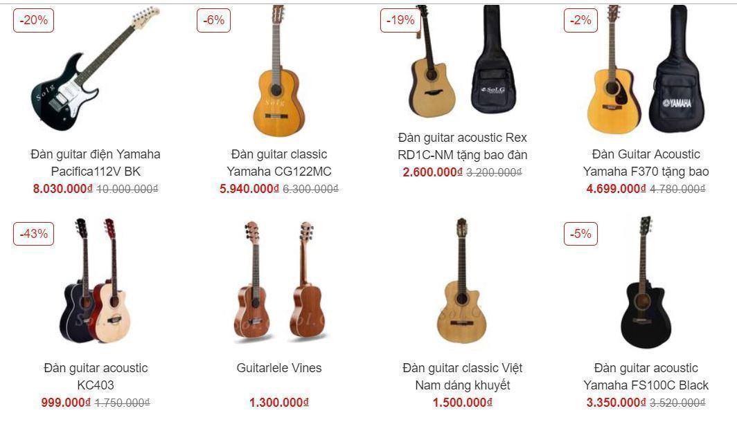 Đán Guitar bán tại Solg.vn