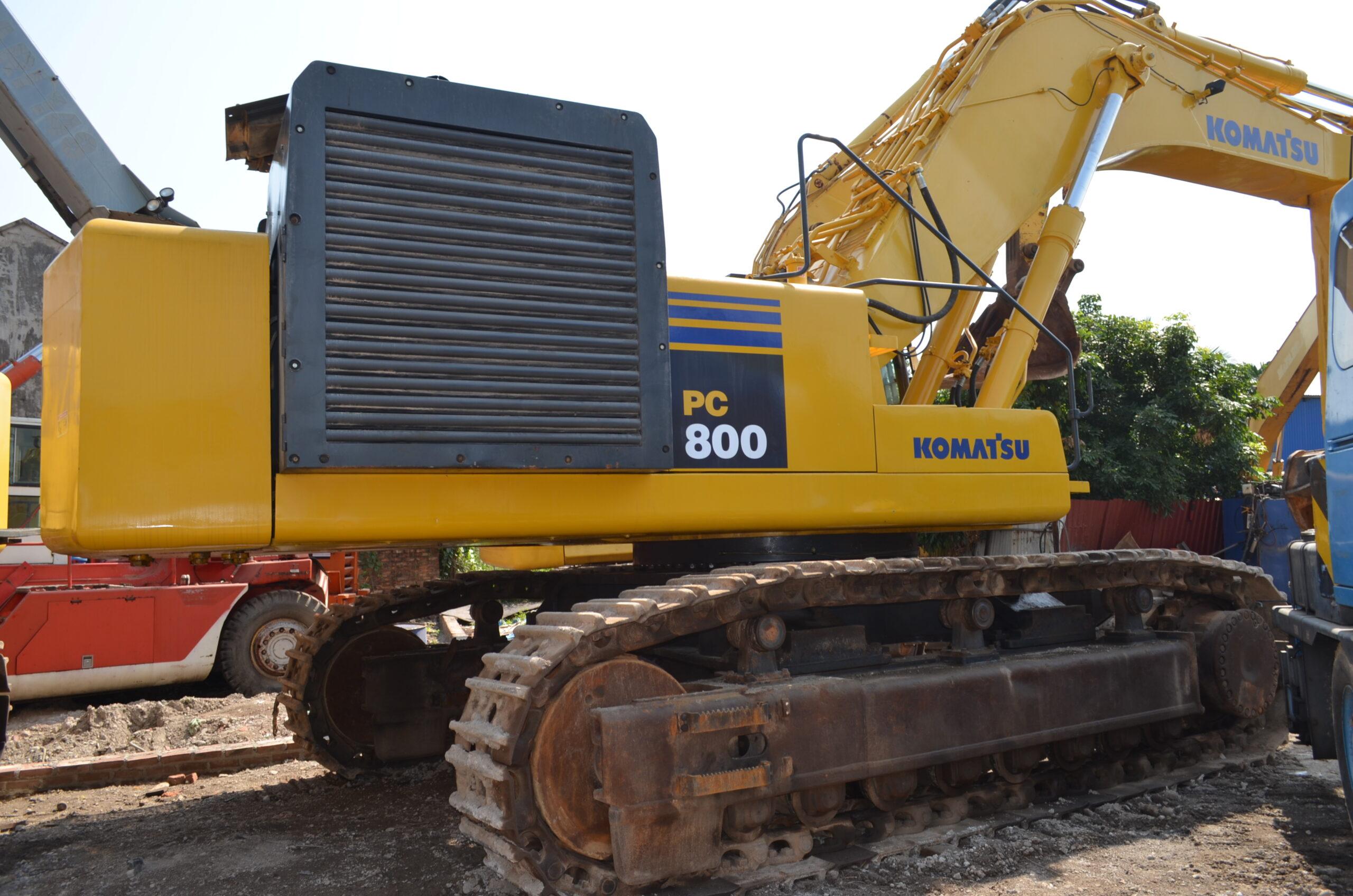 Các đời máy xúc Komatsu – ký hiệu trên máy xúc máy đào  mới nhất 2020