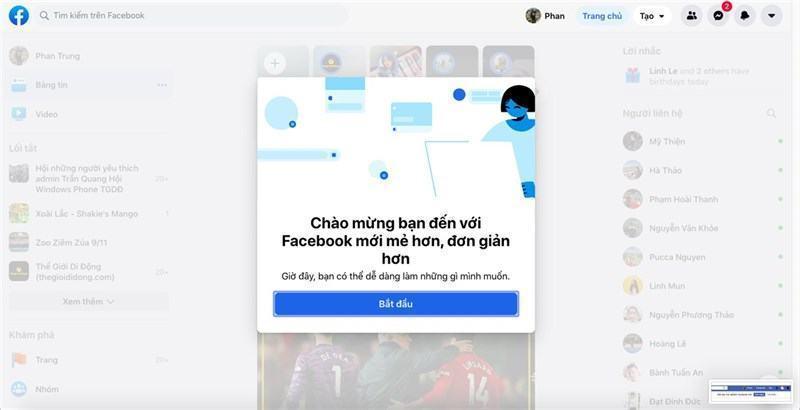 Hướng dẫn chuyển đổi giao diện Facebook mới và cũ trên Google Chrome