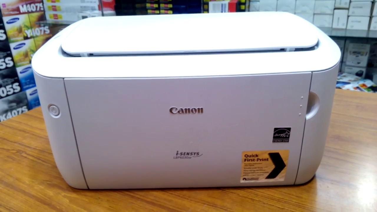 Hướng dẫn tải và cài đặt driver cho máy photo Canon LBP 6030/F166400 cho Windows
