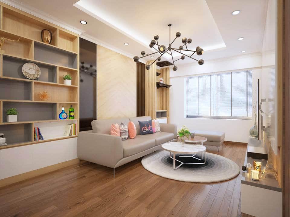 Cập nhập xu hướng thiết kế nội thất chung cư 2020