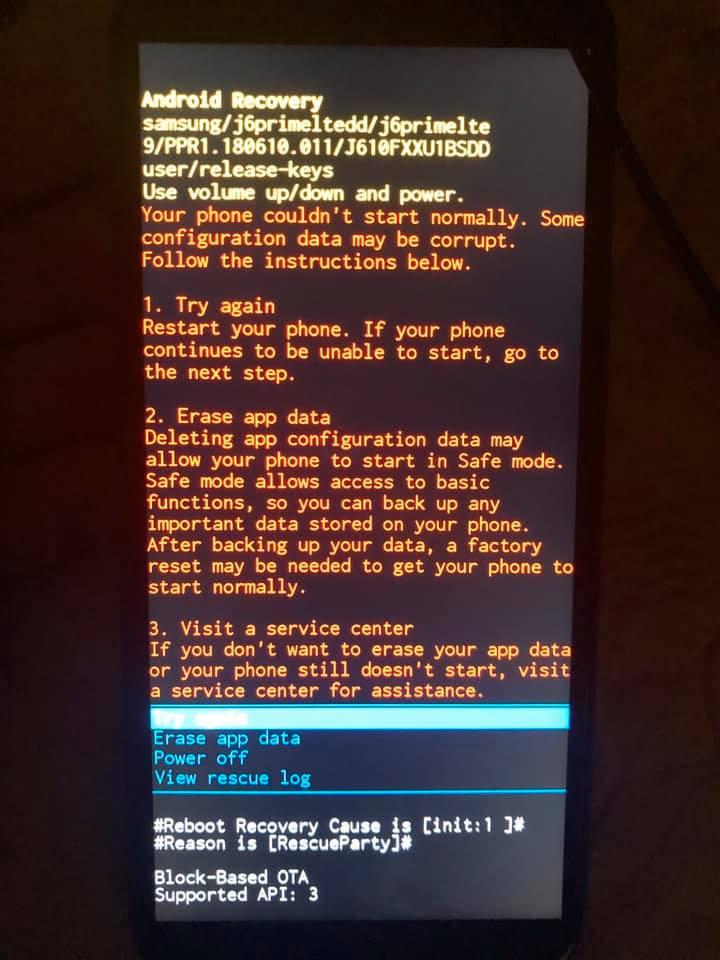 Hướng dẫn sửa lỗi điện thoại Samsung bị màn hình đen