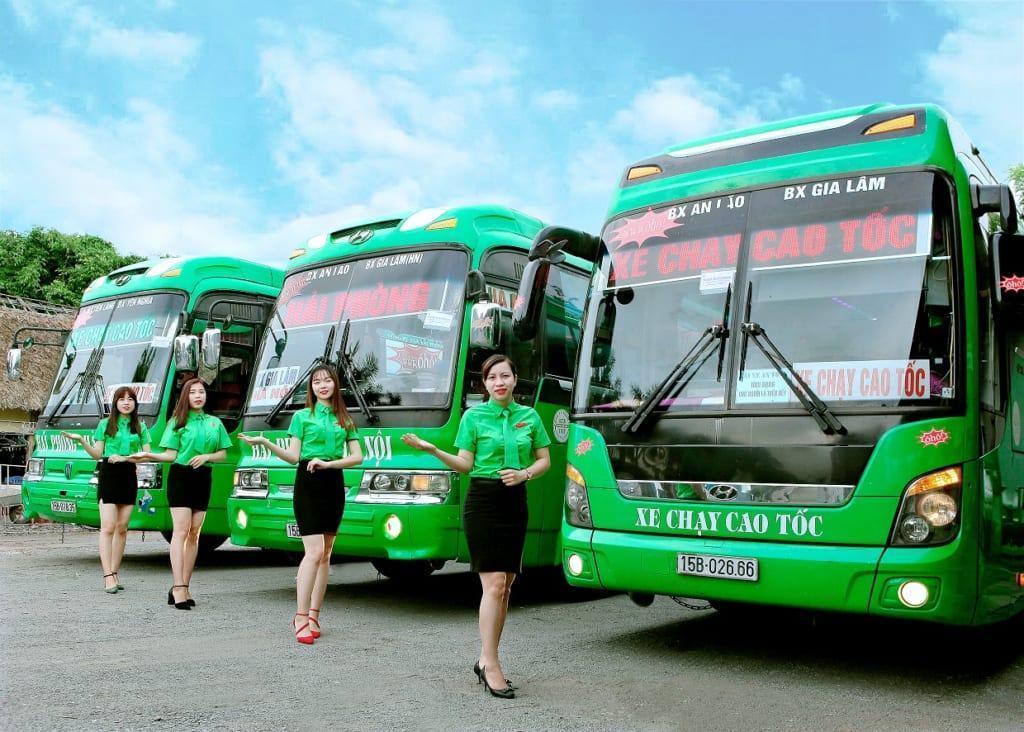Xe khách Hà Nội Hải Phòng chạy cao tốc không bắt khách dọc đường