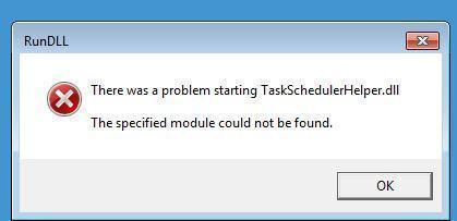 Cách Khắc Phục Sự Cố Không Tìm Thấy TaskSchedulerHelper.dll Trong Windows 10 - HUY AN PHÁT