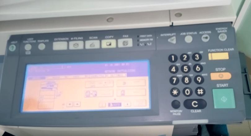 Lỗi máy photocopy Toshiba và cách khắc phục đơn giản