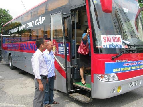 Xe khách tuyến Sài Gòn - Bình Định giá rẻ - an toàn