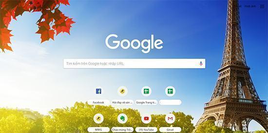 Hướng dẫn thay đổi hình nền Chrome