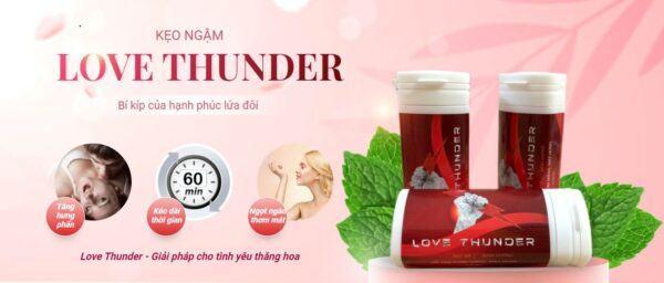 Kẹo phòng the love thunder giá bao nhiêu? có tốt không, thực tế sao?