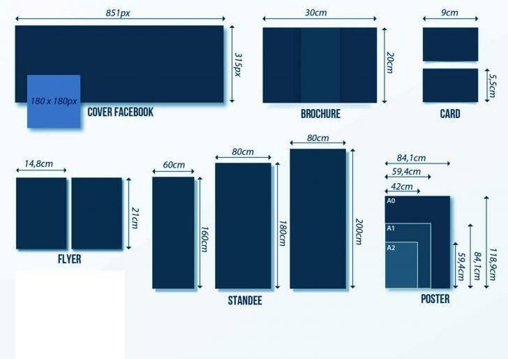 Kích thước trong thiết kế ấn phẩm truyền thông 2021