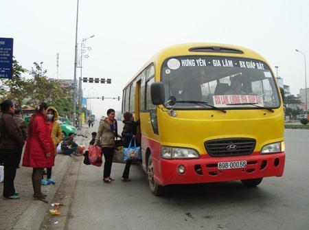 Lộ trình xe bus Hà Nội Hưng Yên: