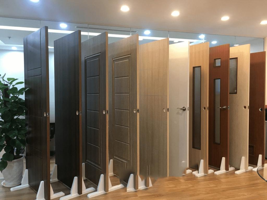 Cửa nhựa giả vân gỗ Ecodoor