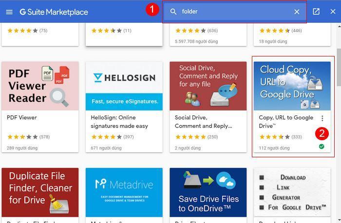 Hướng dẫn sao chép thư mục trên Google Drive 2021