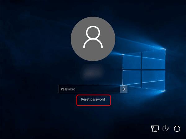 Cách mở khóa laptop khi quên mật khẩu Windows 10