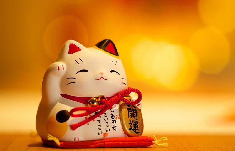 Mèo cầu tài Maneki Neko