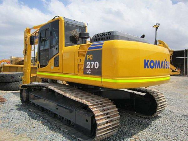 Dòng máy xúc đào 20 tấn (PC200) sản phẩm phổ biến nhất của hãng Komatsu