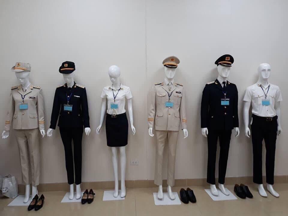 Mẫu trang phục, đồng phục viên chức kho bạc nhà nước, công chức thuế hiện nay