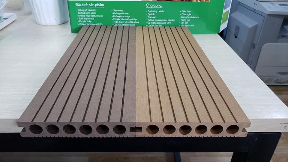 Mẫu sàn gỗ nhựa composite ECOVINA
