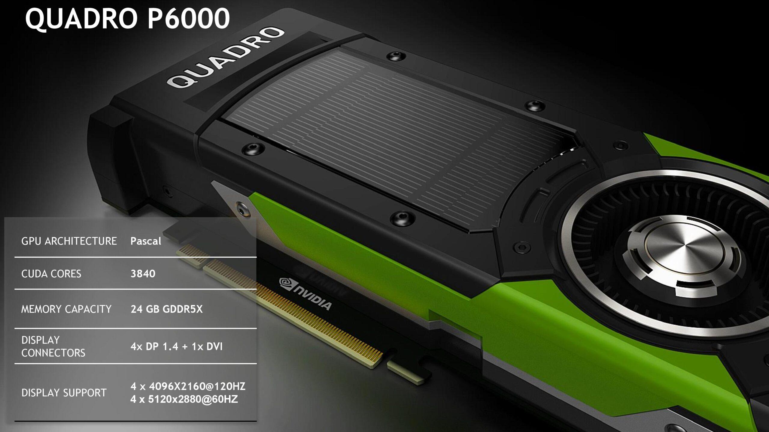 Nên chọn card đồ họa Geforce hay Quadro 3
