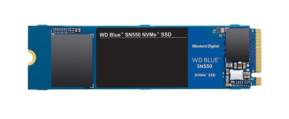 SSD WD Blue SN550 PCIe Gen3 x4 NVMe M.2