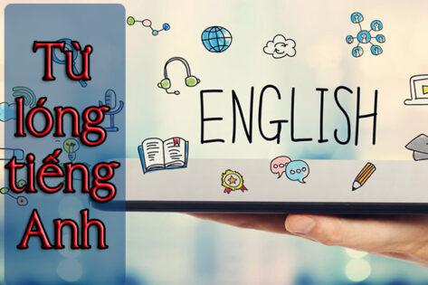 Các từ lóng trong tiếng Anh