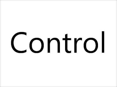Control đi với giới từ gì?Control of là gì?
