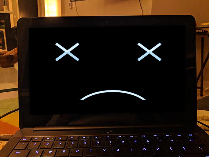 Sửa lỗi laptop bật không lên nguồn, laptop bị sập nguồn