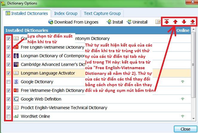 từ điển Lingoes portable_3