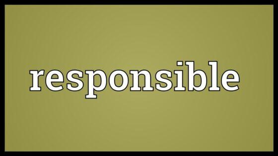 Responsible đi với giới từ nào