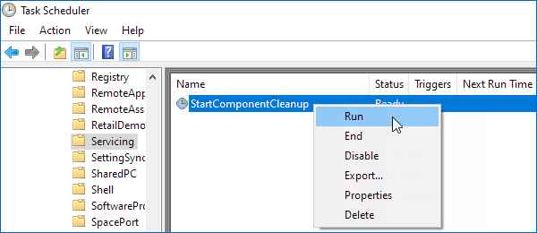 Clean up component store