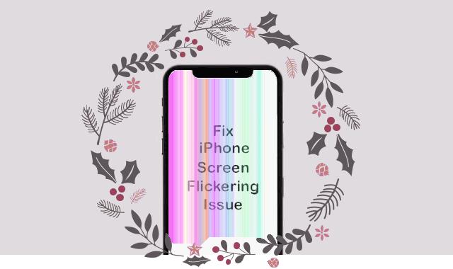 sửa màn hình iPhone bị chập chờn