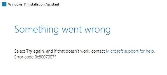 Khắc phục lỗi 0x8007007f và 0x800F0830 - 0x20003 khi cài Windows 11