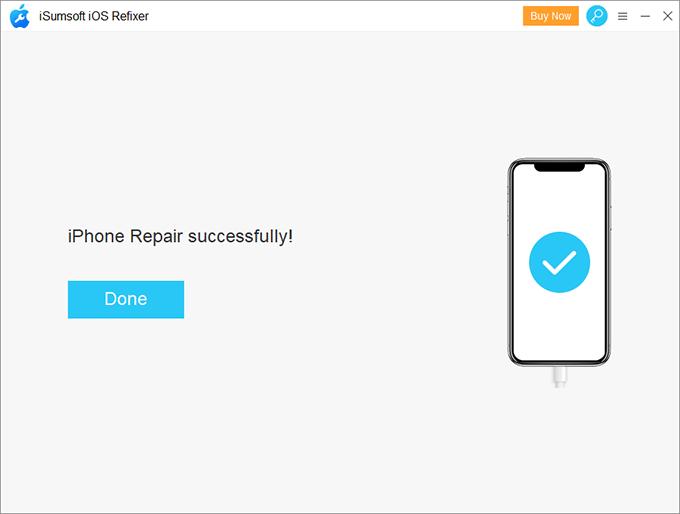Repair iPhone Successfully