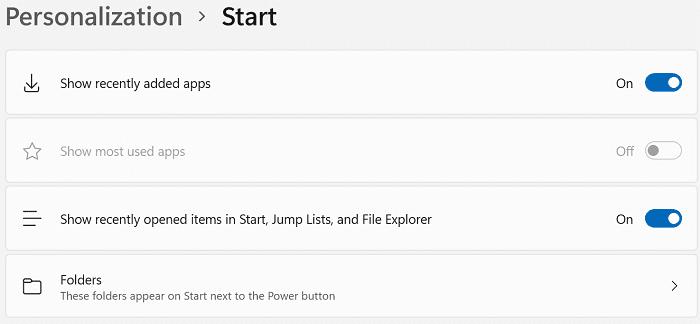 windows-11-start-menu-options